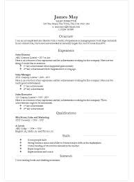 Is There A Resume Template In Microsoft Word - Gfyork.com