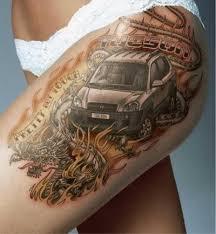 Obrazem Milují Auta Až Pod Kůži Aneb Galerie Automobilových Tetování