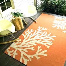 indoor outdoor rug 6x9 outdoor rug new outdoor rug branches orange gray indoor outdoor rug plastic