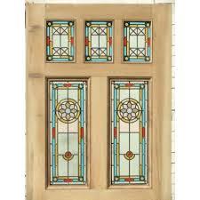 stained glass window insert exterior door windows inserts window inserts