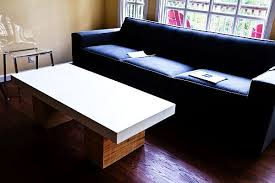 concrete coffee tables holding up to