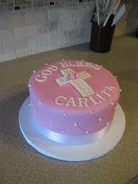 First Communion Cake Sweet Buttercream