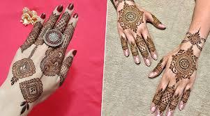 Mehandi Design In Arabic Style Arabic Mehndi Designs For Diwali 2019 Easy And Beautiful