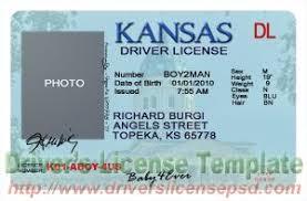 Ks License Fake - Psd Drivers Kansas