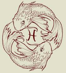 Pisces Drawing Design Fish Drawings Designs For Tattoos Pisces Koi Fish By
