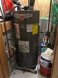 rheem 40 gal electric water heater. rheem performance 40 gal. medium 6 year 4500/4500-watt elements electric water heater xe40m06st45u1 at the home depot - mobile gal