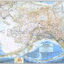 Alaska Nautical Charts Alaska Antique Map Of Alaska Nautical Chart Decor