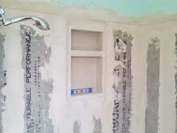 medium size of shower tile backer board install options accent border thickness home depot images design