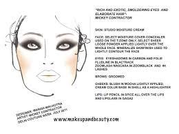 Manish Malhotra Face Chart Makeupandbeauty Com