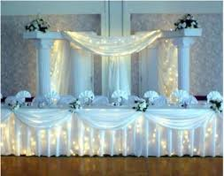 top table decoration ideas. How To Backdrops For Weddings | Tulle Wedding Decorations Best Decor Top Table Decoration Ideas C