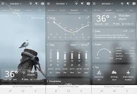 Android Weather App Design The 8 Best Weather App For Android