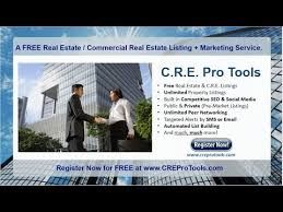 Cre Pro Tools Real Estate Commercial Real Estate Listing And Marketing Service Intro Video
