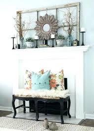 fireplace mantels decor fireplace mantle decor auburn fireplace mantel decor with candles