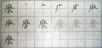 how to write chinese characters cantonese help sheets writing chinese in boxes