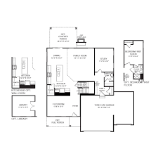 floorplans gallery elevations virtual tour lehigh 3 car garage main level for a larger image