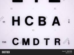 Optician Eye Test Image Photo Free Trial Bigstock
