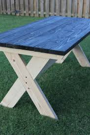 Table With Drink Trough Best 20 Picnic Tables Ideas On Pinterest Diy Picnic Table