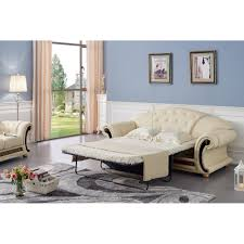 Versace Living Room Furniture Classic Versace Living Room Set Beige Lether Sofa Loveseat
