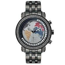 joe rodeo mens watches uk watches store joe rodeo diamond men s watch tyler black 2 ctw