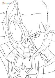 He first appeared in 1962 in the comic book amazing fantasy. Miles Morales Coloring Pages Free Printable New Spider Man