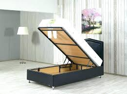 Platform Storage Twin Bed Extra Long Twin Bed With Storage Twin Bed ...