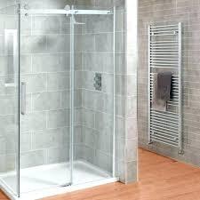 glass shower doors standard door handles kohler pinstripe handle
