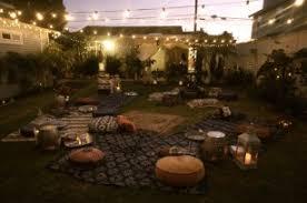 moroccan outdoor lighting. moroccanstyle outdoor party moroccan lighting