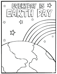 Save The Earth Coloring Pages Running Downcom