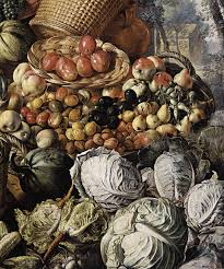 file joachim beuckelaer market woman with fruit vegetables and poultry detail wga02120 jpg