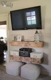 diy media shelves for living room diy living room decor ideas budget friendly home