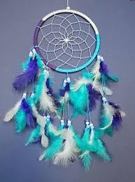 Beautiful Dream Catcher Images BEAUTIFUL DREAM CATCHER BOYS GIRLS BLUE PURPLE WHITE DREAMCATCHER 32