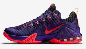 nike shoes 2016 basketball price. nike lebron 12 low court purple bright crimson cave laser orange shoes 2016 basketball price