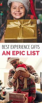 inside these experience gift ideas will make you a hero with your loved ones because instead of collecting dust these gifts will bee trered