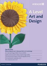 first teaching from and pearson qualifications link to edexcel a level art and design specification page