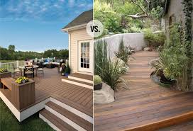 faux wood decking. Plain Wood Woodvscomposite And Faux Wood Decking