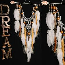 Unusual Dream Catchers white dream catcher Arrow Copper Moon wedding dreamcatcher copper 84