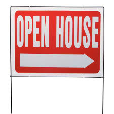 open house signs home depot. Plastic Open House Sign With Lawn Signs Home Depot The