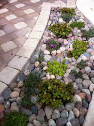 River Rock Gardens : Creative River Rock Gardens Decoration Ideas  Collection Gallery To River Rock Gardens