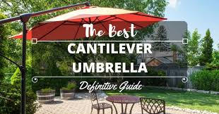 best cantilever patio umbrellas images gallery