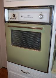 american beauties 25 vintage stoves and refrigerators from 1970 avocado wall oven