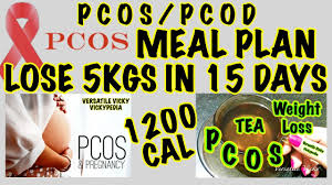 Pcos Diet Chart For Weight Loss Indian Pcos Pcod Diet Plan How To Lose Weight Fast 10 Kgs In 15 Days Indian Weight Loss Plan