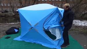 <b>Зимняя палатка куб Woodland</b> Ice Fish Double двухслойная ...