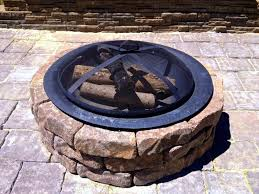 diy fire pit patio and bench