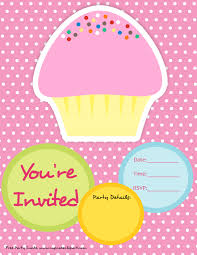 party invitation clipart clipartfest in cupcake invitations