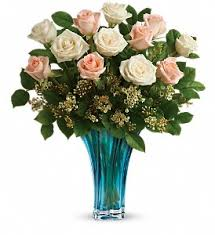 teleflora s ocean of roses bouquet in oklahoma city ok cheever s flowers