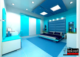 Blue Bedrooms Decorating Country Style Boys Blue Bedroom With Wooden Plafond Also Wooden
