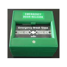 emergency door release break glass gre