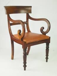 victorian gany open armchair or desk chair antiques atlas
