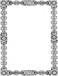 Simple Ornate Frame Clip Art Download