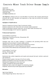 truck driving resumes truck driver resume objective cdl example sample pdf